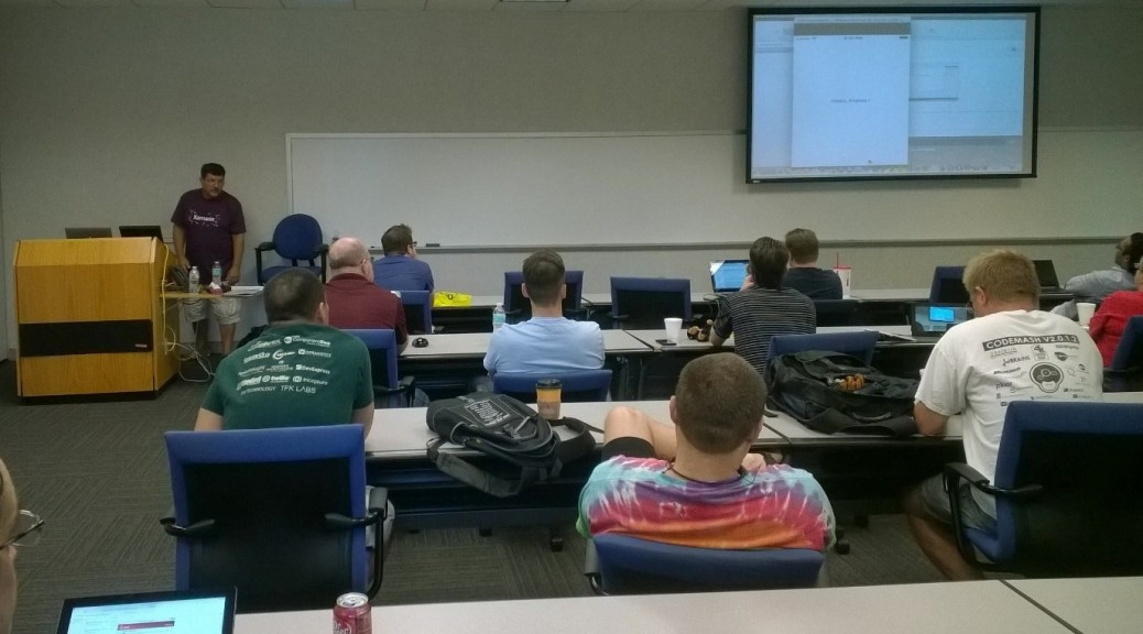 Xamarin Forms session by Russ Fustino, Xamarin Developer Evangelist