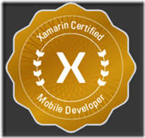 Xamarin Ceritified Mobile Developer Badge-small res